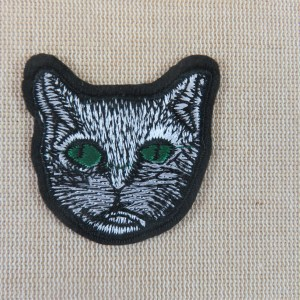 écusson chat thermocollant patch animaux