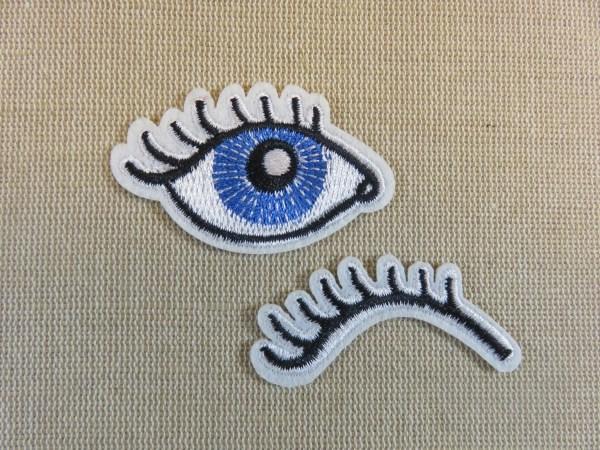 Patch œil bleu