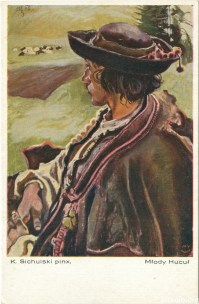 Молодий гуцул, мал. К. Сихульський (Салон польських художників, Краків) ----- Kazimierz Sichulski
