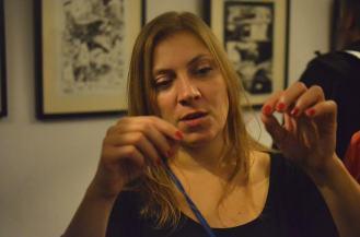 Na zdjęciu Joanna Karpowicz.