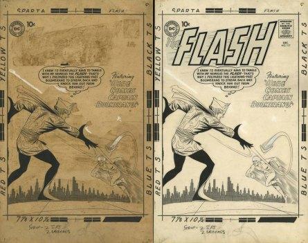 Konserwacja rysunku - Flash.