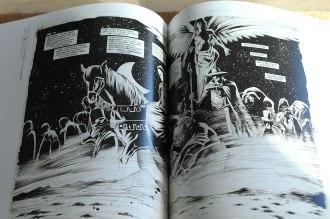 Plansze do Sandmana - podwójny splash autorów: Gary Amaro i Tony Harris.