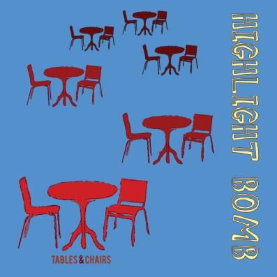Packaging - Highlight Bomb EP Album Art