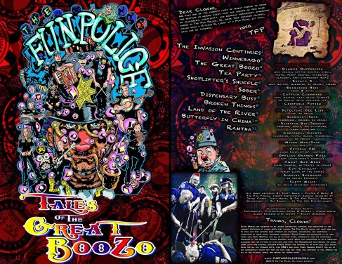 Packaging - Tales of the Great Boozo Album Cover