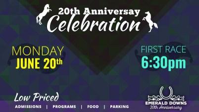 TV Graphics - 20th Anniversary Celebration