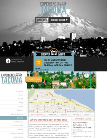 Web Design - Community District Business Listings
