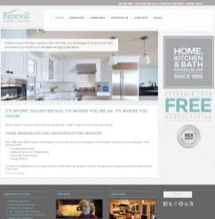 Web Design - Remodeling Company