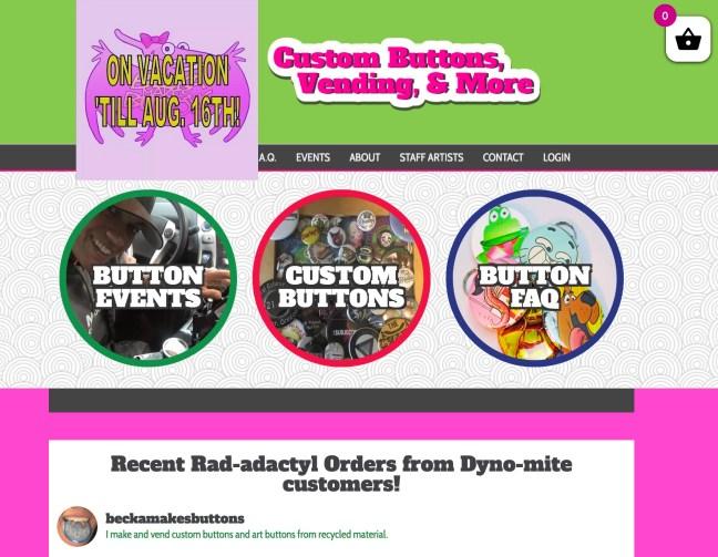 Web Design Custom Buttons