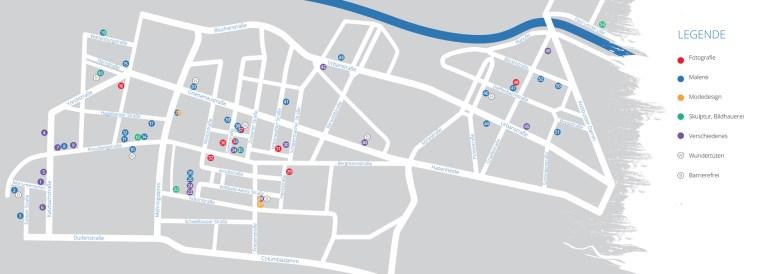 An diesen Orten findet die ART Kreuzberg 2016 statt