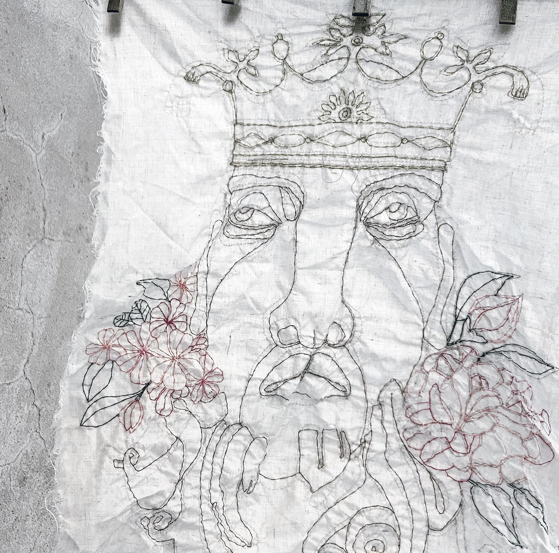 contemporary embroidery art