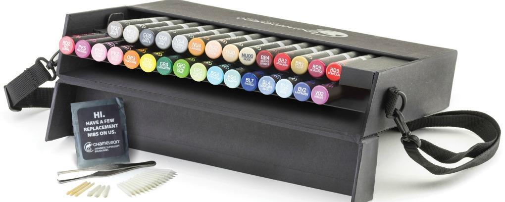 Chameleon Pens – Nuevo estuche de 30 nuevos colores