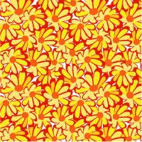 An Example Of A Floral Allover Design