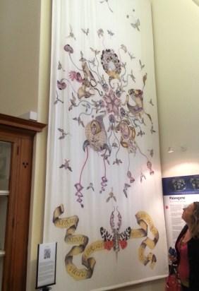 Gillian Ellis at Sedgwick Museum