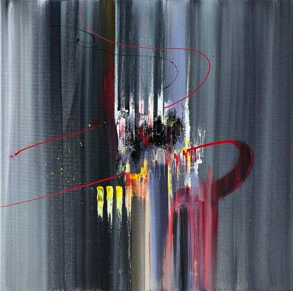 Acrylic Painting. Abstract Painting