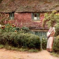 English Utopia in the Art of Helen Allingham