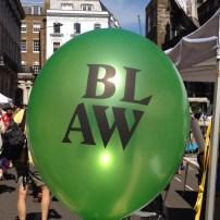 BLAW balloon
