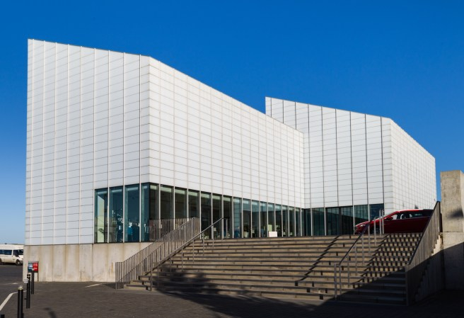 Margate, UK - December 10, 2014: Designed by David Chipperfield, the Turner Contemporary gallery is the largest exhibition space in the South East, outside of London.