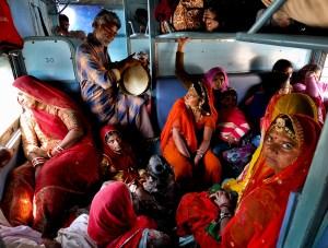 "Anirudha (Robi) Chakraborty ""Pilgrims on the Train"""