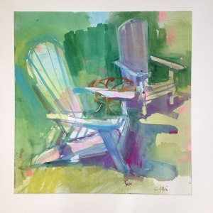 "Cathy Chin ""Summer Chairs"""