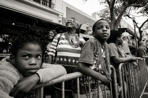 "Brian Malloy ""MLK parade spectators , stars and stripes"""