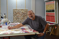 Ed Ferszt in the studio