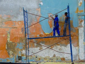 "Robert Easton ""Havana Wall 1"""