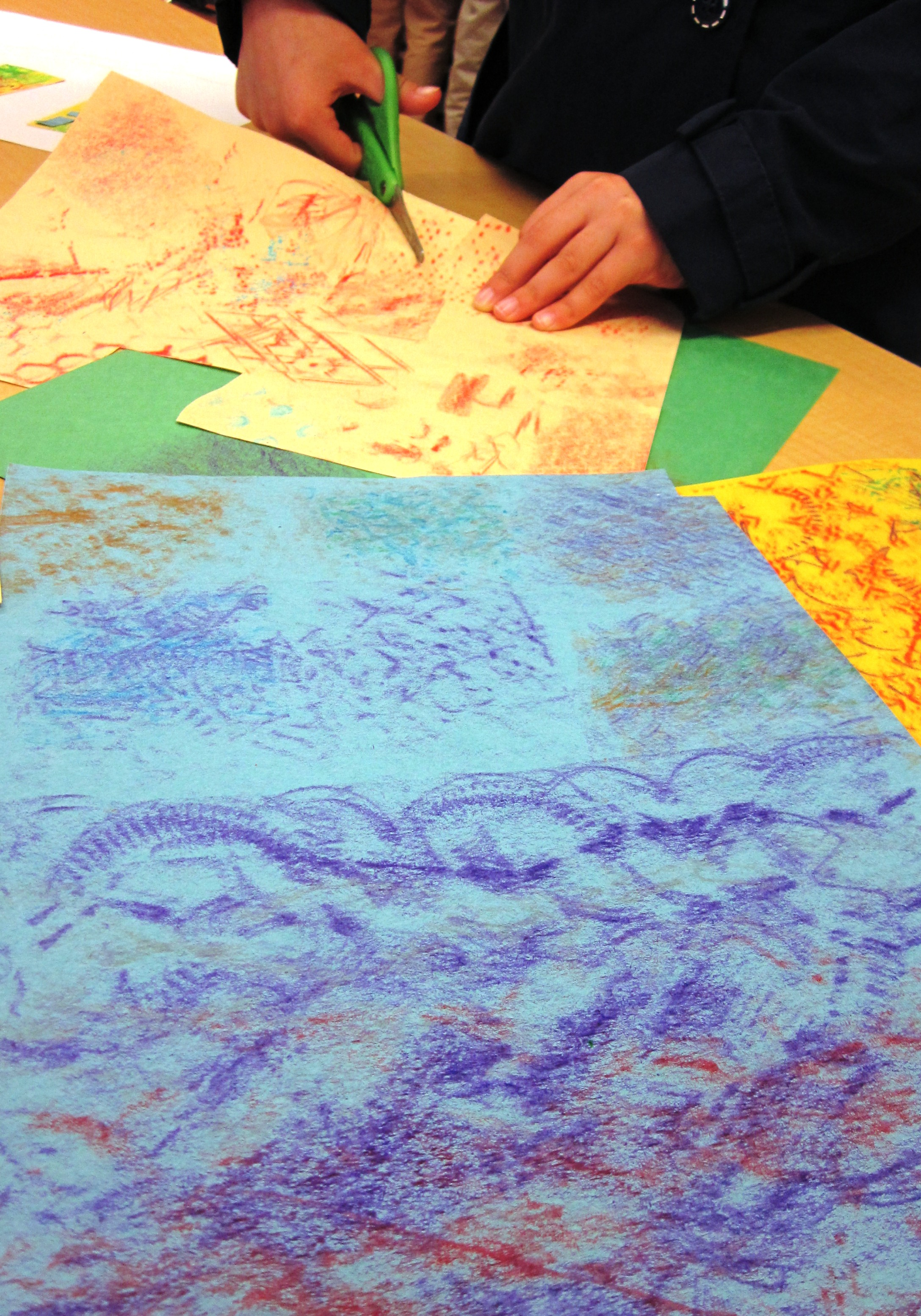 Textured Cities In Grade Two