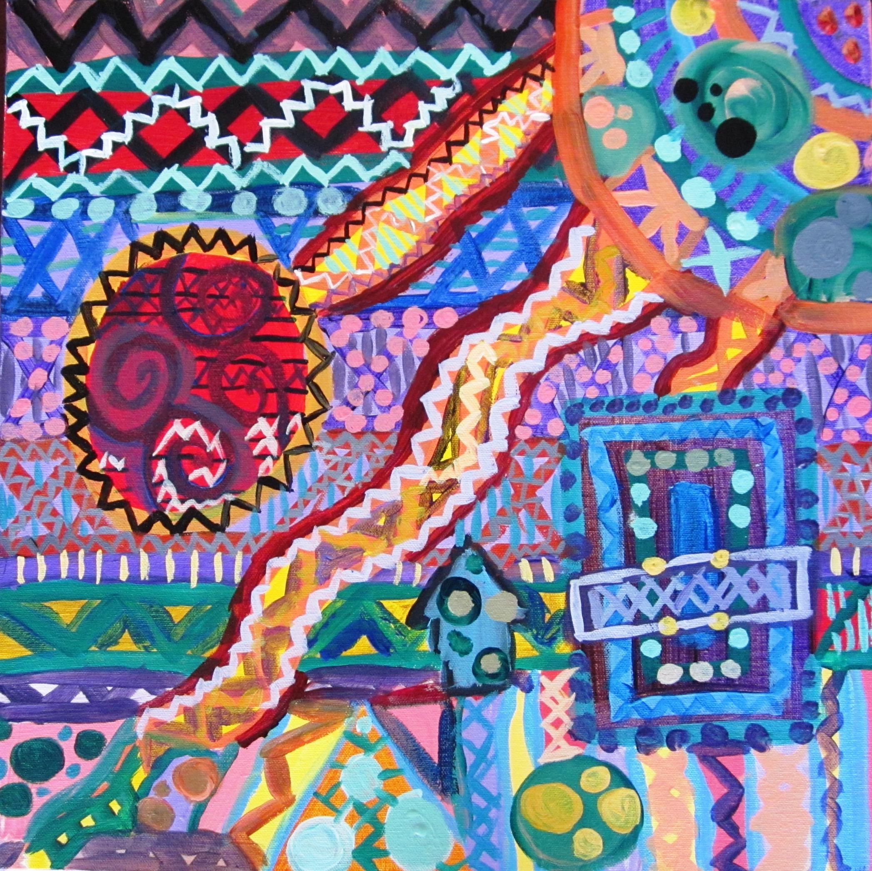 Middle School Weaving Art Lesson
