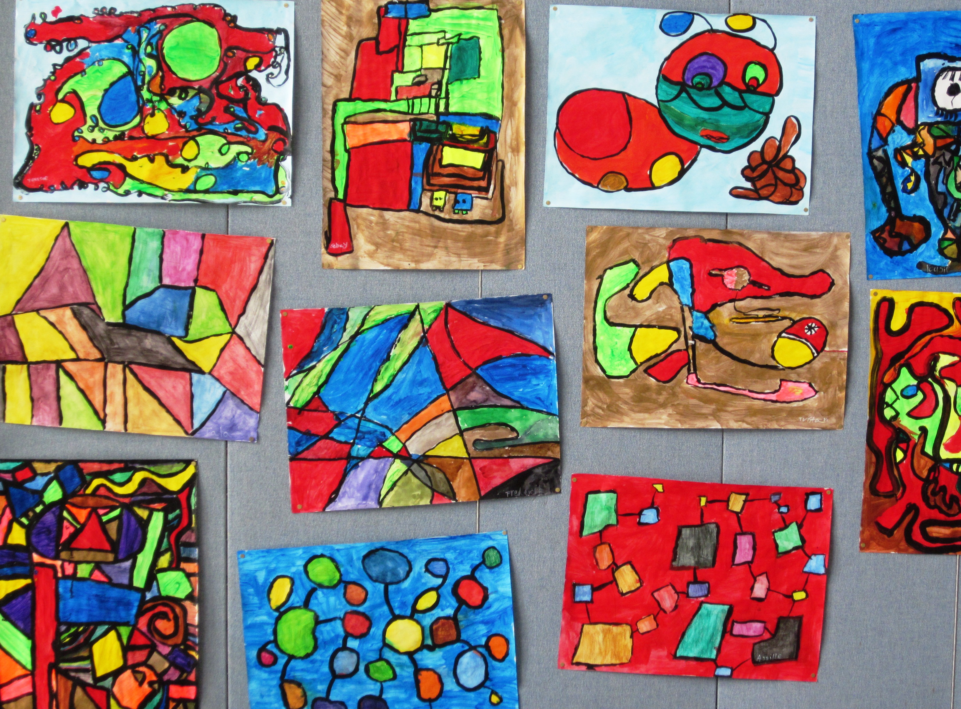 Abstract Art Lessons For Kids