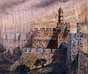 Israels War of Independence, Painting by Alex Levin