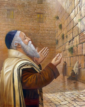 Alex Levin - Praying by the Kotel