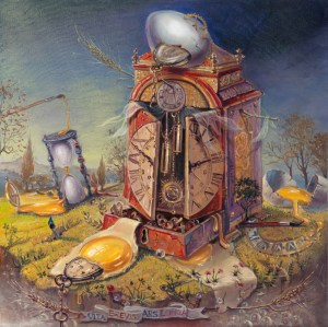Vita Brevis Ars Longa Art is long Life is short, Painting by Alex Levin