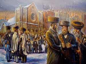 Alex Levin - Winter Sabbath in Williamsburg