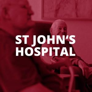 ST JOHN'S HOSPITAL BUTTON