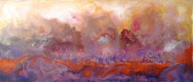 Fertile Ground - Encaustic Painting