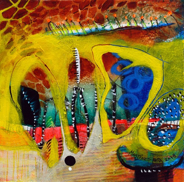 Abejas I - Original Art for Sale