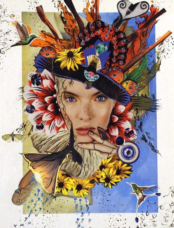 Flower Child - Archival Print on Canvas