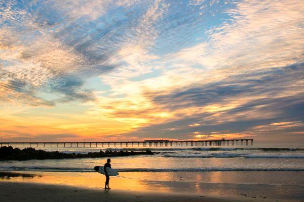 Fine Art For Lease - November in Ocean Beach
