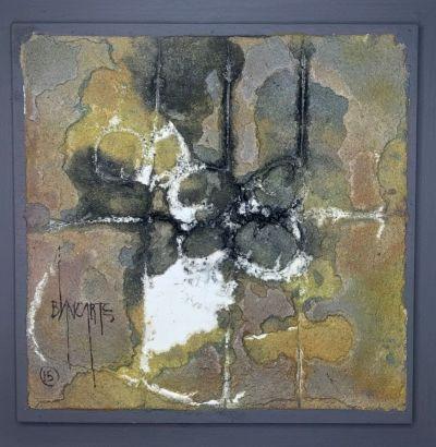 Calidos IX (Warm IX) - Mixed Media Painting