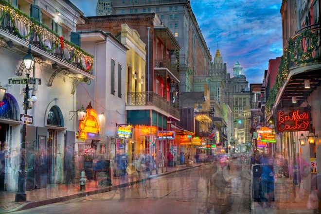 Bourbon Street Limited Edition Giclee by Michael James Slattery