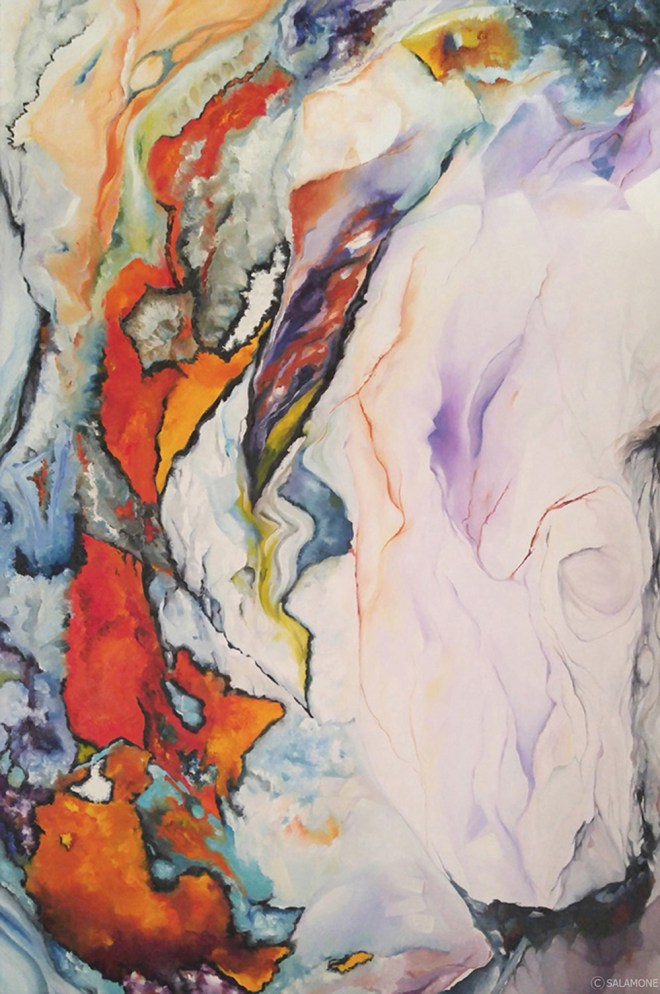 Original oil painting artwork