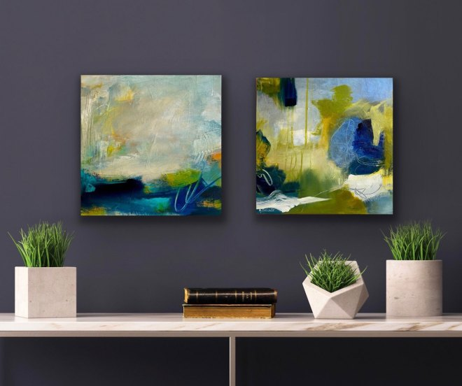 Ocean Breeze and Nature Walk by Karla Preciado paired together