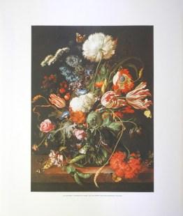 J.D. DE HEEM - FLOWERS IN A VASE - L'CLUDE (LITHOGRAPH)