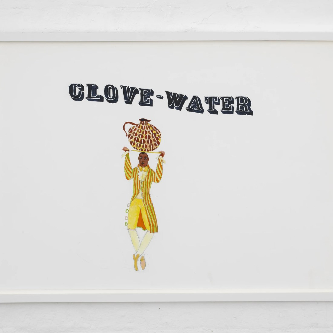 Lubaina Himid, Untitled, 2010, Acrylic and Pencil on Paper. Courtesy the Artist and Hollybush Gardens, Photo: Andy Keate.