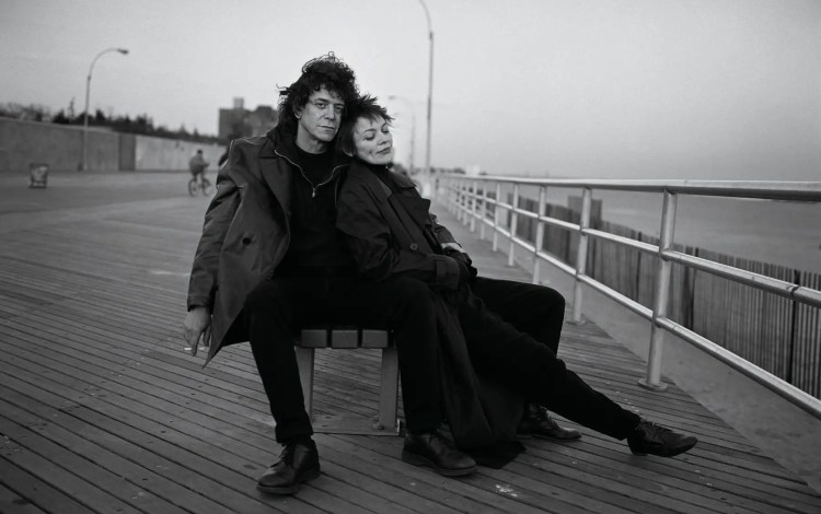 Image result for laurie anderson lou reed