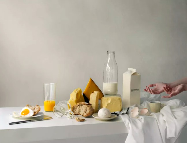 Katerina Belkina  Early Breakfast, 2015  Archival Pigment Print  38 x 50 cm  15 x 19 3/4 in  Edition of 8 plus 2 artist's proofs  Series: Repast