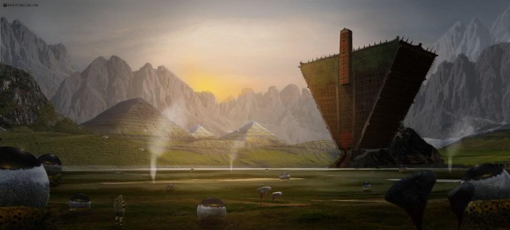 Alien Landscape by Robin Florie