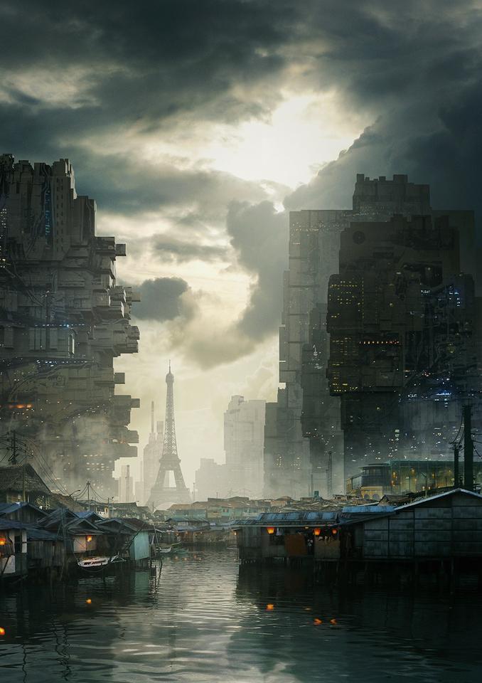 Neo Paris by Geoffrey Ernault