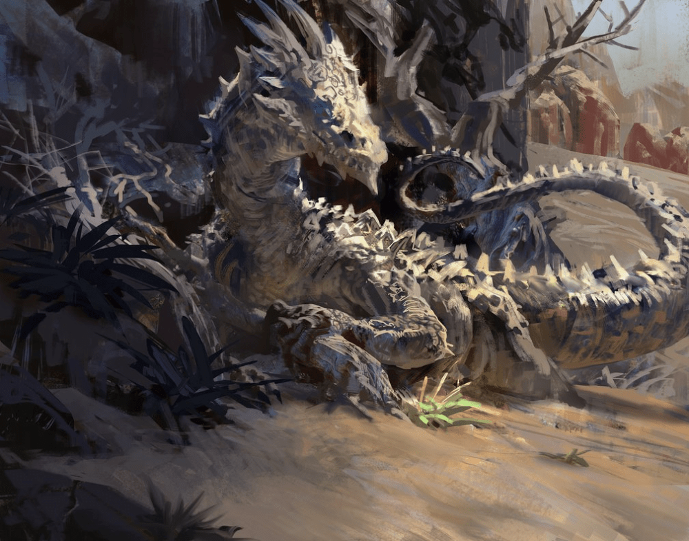 Desert Dragon by Mike Azevedo