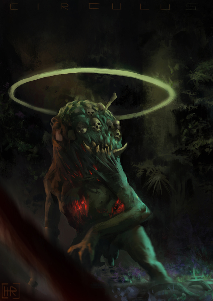 Kurth The Demon Of The Forest by hugo richard